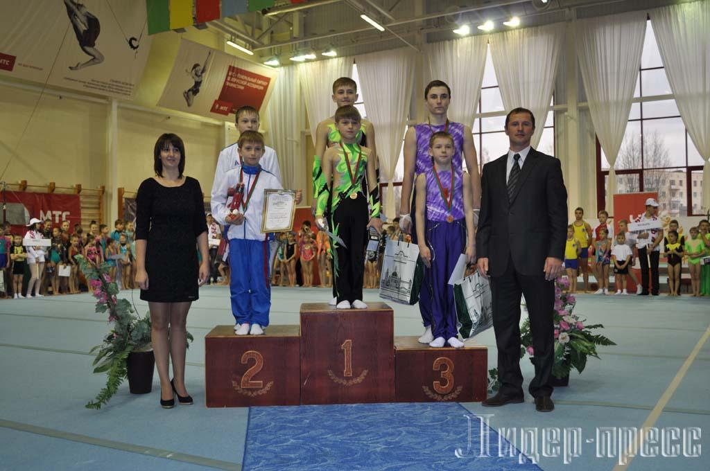 турнир по спортивной акробатике «Киндр-сюрприз»